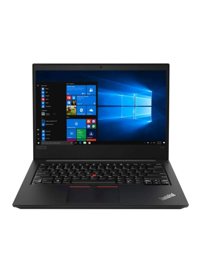 Thinkpad E490 Laptop With 14-Inch Display, Core i5 Processor 8GB RAM 1TB HDD 2GB AMD Radeon RX 550 Graphic Card Black