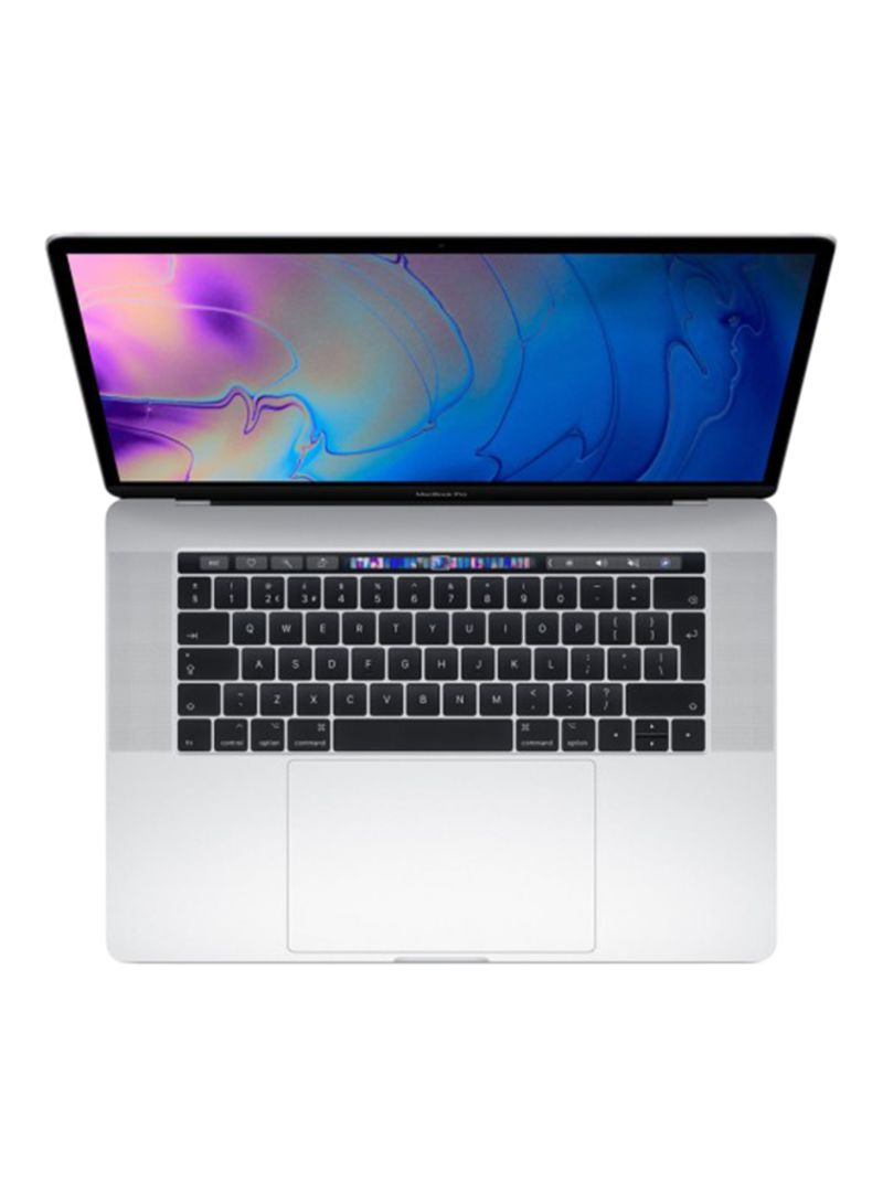 MacBook Pro Touch Bar Laptop With 15.4-Inch Retina Display, Core i7 with 2.6GHz 6 Core Processor 16GB RAM 256GB SSD 4GB AMD Radeon Pro555X Graphics Card 2019 Silver Silver_2