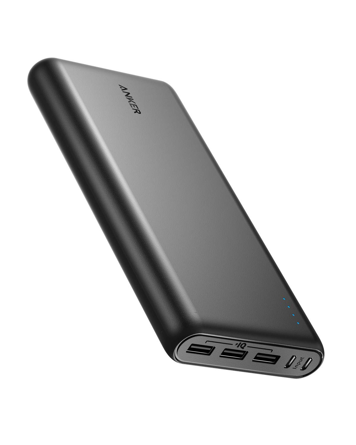26800 mAh PowerCore Portable Charger With Dual Input Port And Double-Speed Recharging Black_2