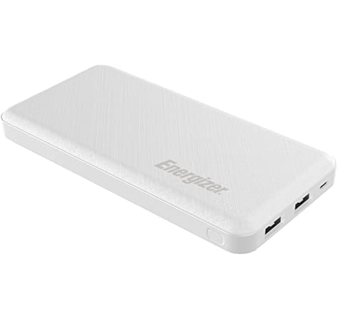 10000 mAh Fast Charging Dual Input Powerbank White_2