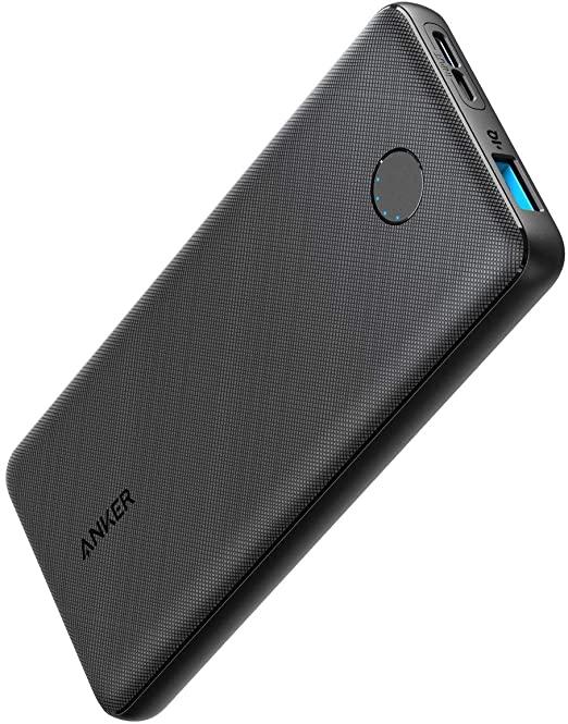 10000 mAh PowerCore Slim 10000 Ultra Slim Portable Charger for iPhone Samsung Galaxy Black_2