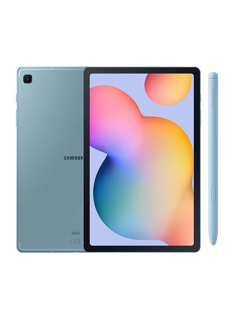Galaxy Tab S6 Lite 10.4-Inch, 4GB RAM, 64GB, Wi-Fi, Blue With Pen - UAE Version_2