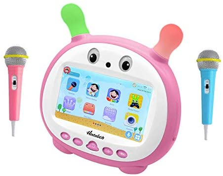 K79 Kids Tablet 7-Inch, 1GB RAM, 16GB, Wi-Fi, Pink With 2 Microphones_2