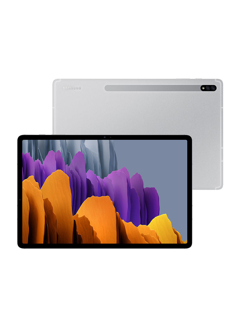 Galaxy Tab S7 11-Inch, 6GB RAM, 128GB, Wi-Fi, Mystic Silver_2