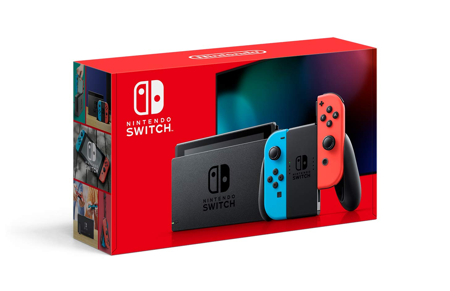 Switch console (extended battery) - neon