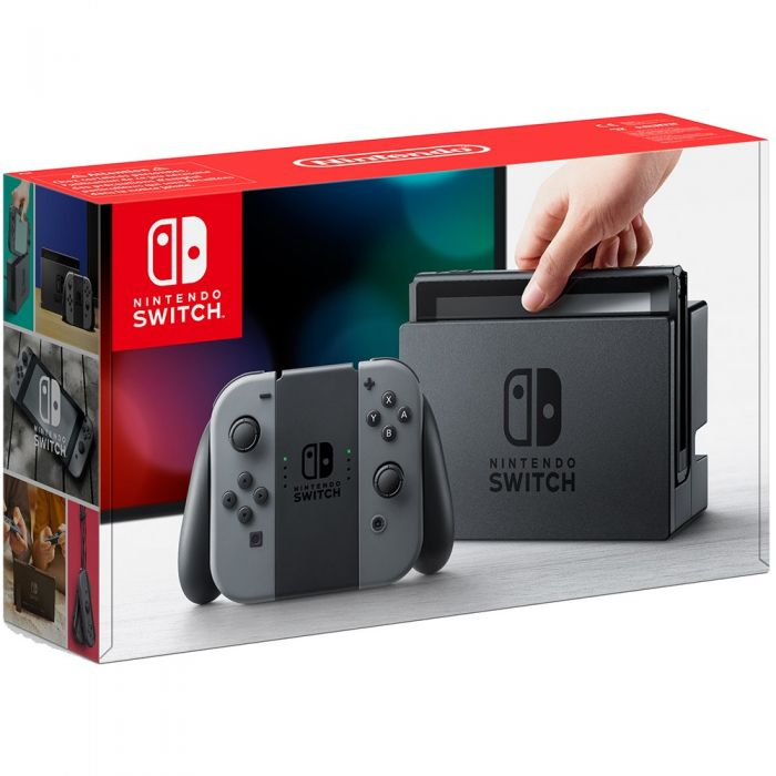 Switch console - neon