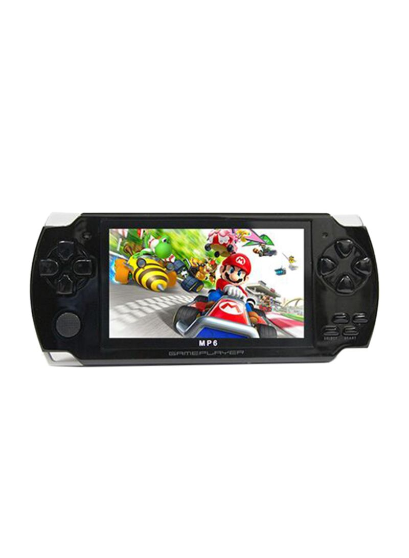 Mp6 player handheld game console - black