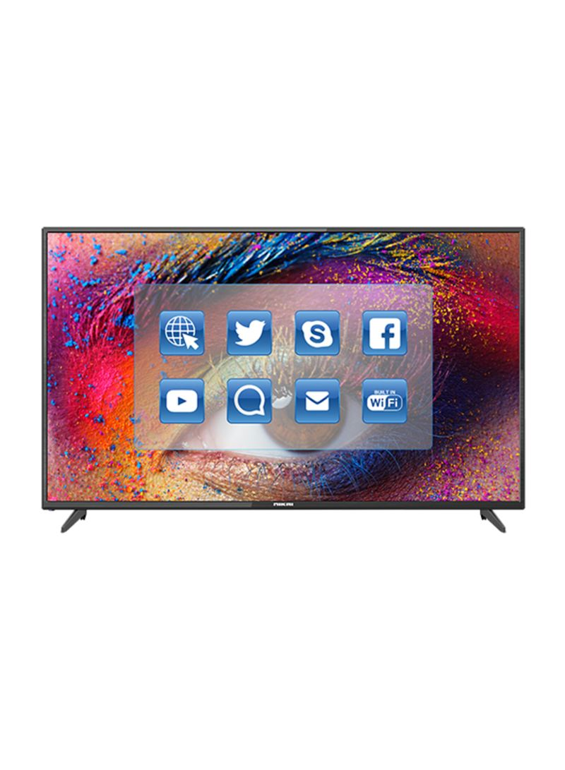 50-Inch Ultra HD Android Smart LED TV UHD50SLED2 Black_2