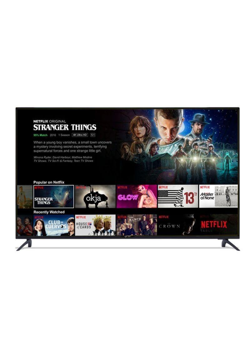 55-Inch UHD Smart Netflix Ready TV UHD55G6S(Smart TV NF5.1) Black