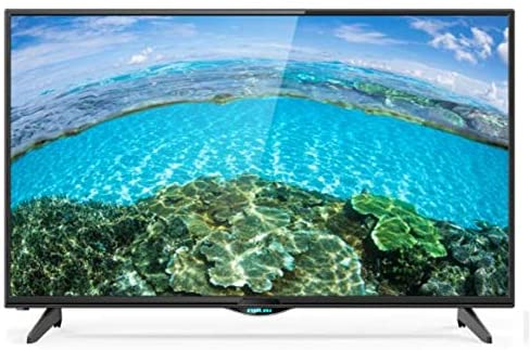 55-inch ultra hd android smart led tv with speaker system with bluetooth and fm-radio [uhd55sledt+ nbts50] black