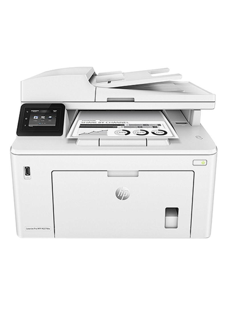 Laserjet pro mfp m227fdw multifunction wireless monochrome printer,g3q75a 403 x 407.4 x 311.5millimeter white