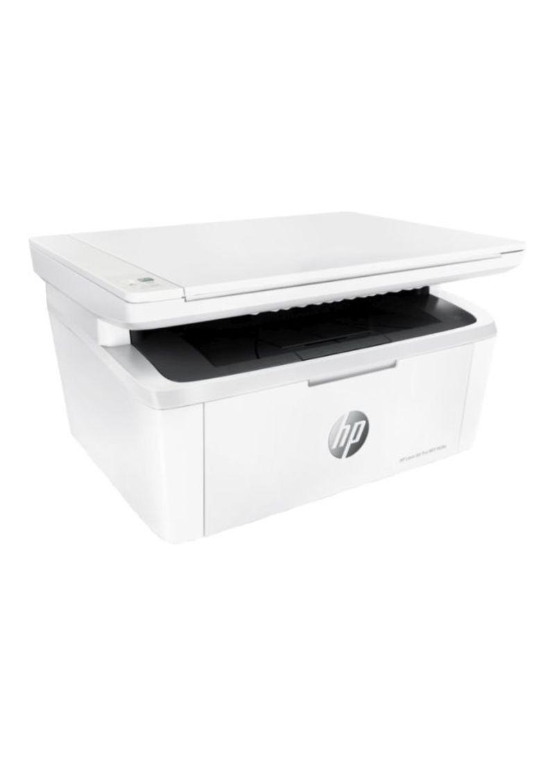 M28a laserjet pro printer with print copy scan function,w2g54a white