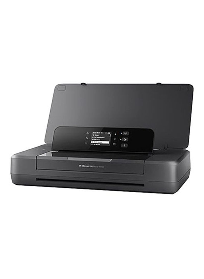 Officejet pro 202 inkjet mobile printer, wireless,n4k99c black