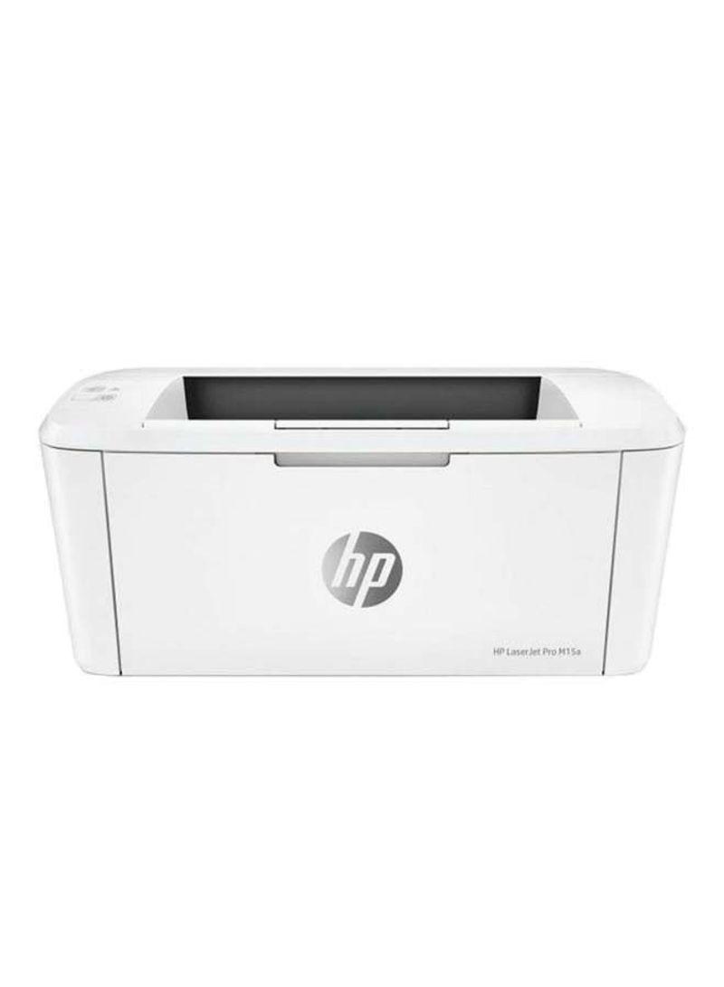Pro m15a laserjet printer,w2g50a white