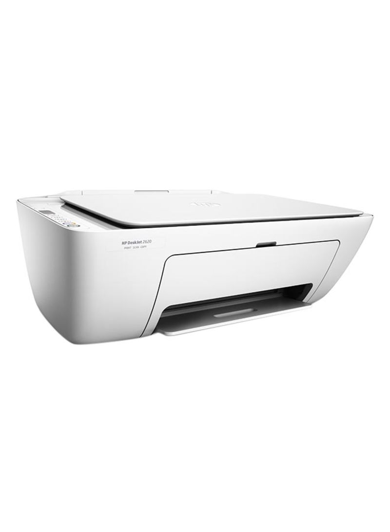 Deskjet 2620 all-in-one printer with scan print wifi function white