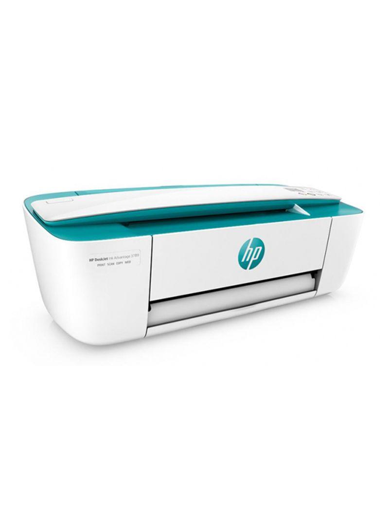 Desk jet ink 3789 all-in-one printer,t8w50c white light green