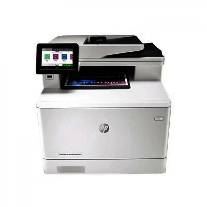 Color laserjet pro m479fdw all-in-one wireless laser printer,w1a80a white black
