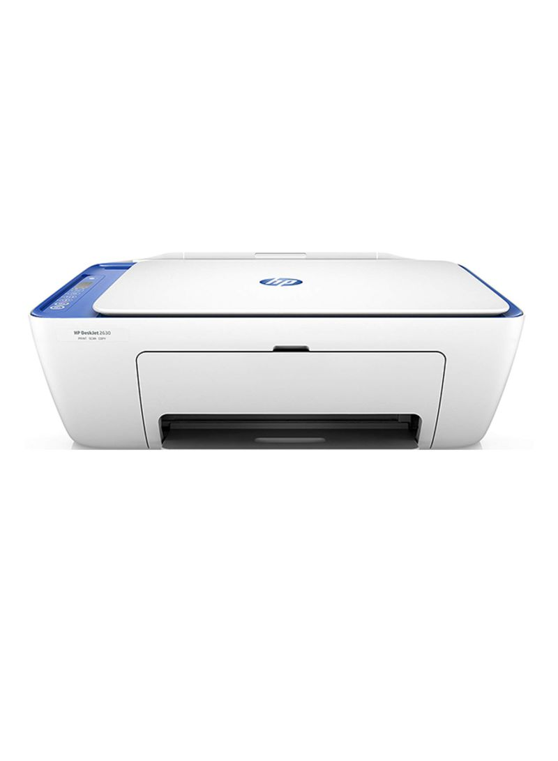 Deskjet 2630 all-in-one printer with print copy scan wifi function and ink tank system,v1n03c mc white