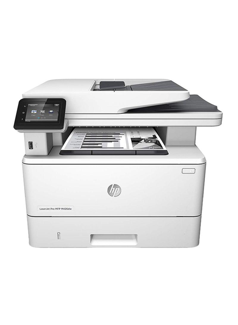 Laserjet pro mfp m428dw wireless printer with print copy scan wifi duplex printing function,w1a28a white