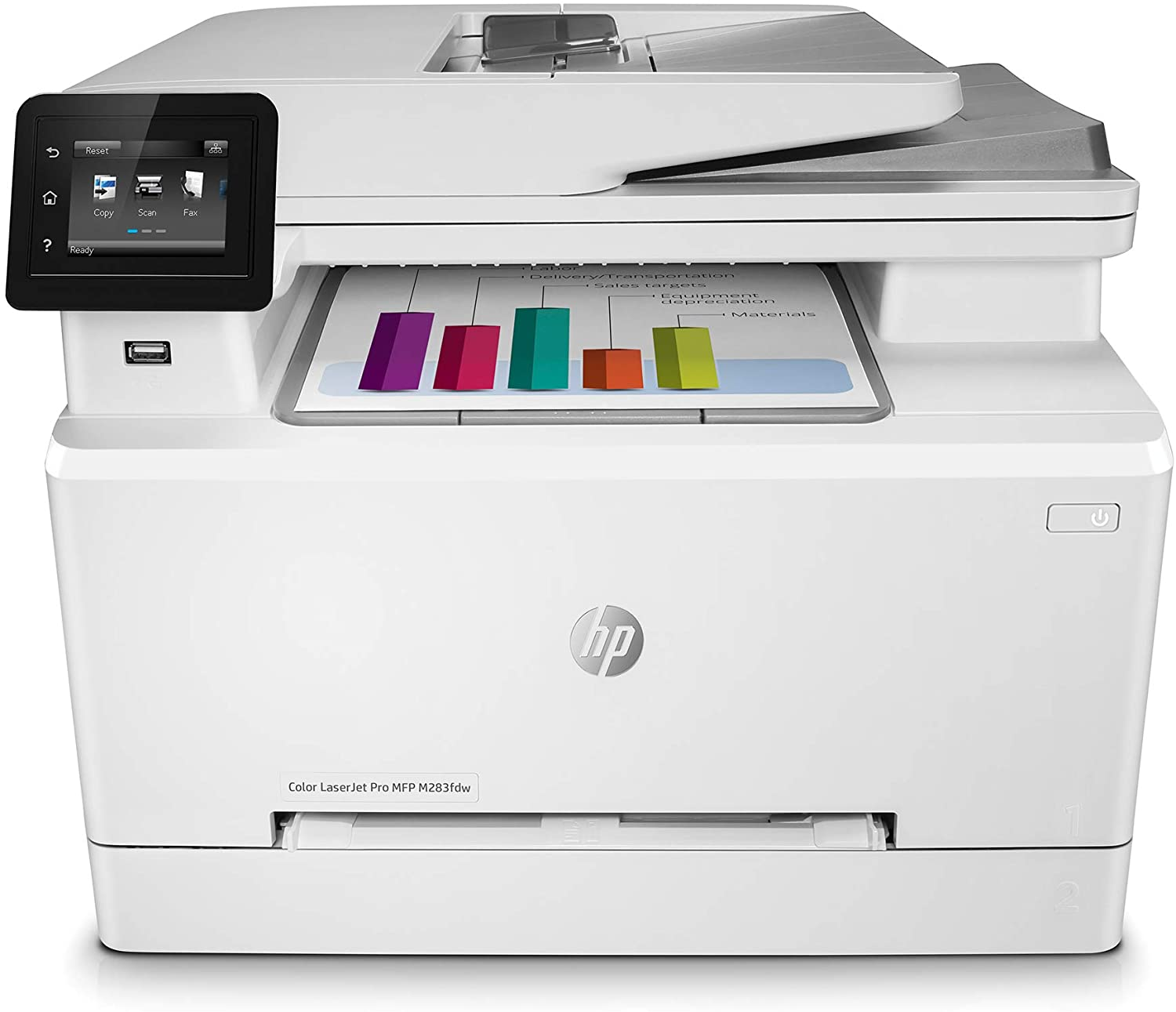 MFP M283fdw Color LaserJet Pro Printer White_2