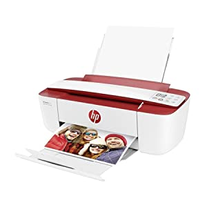DeskJet Ink Advantage 3788 All-in-One Wireless Color Printer,T8W49C White Red