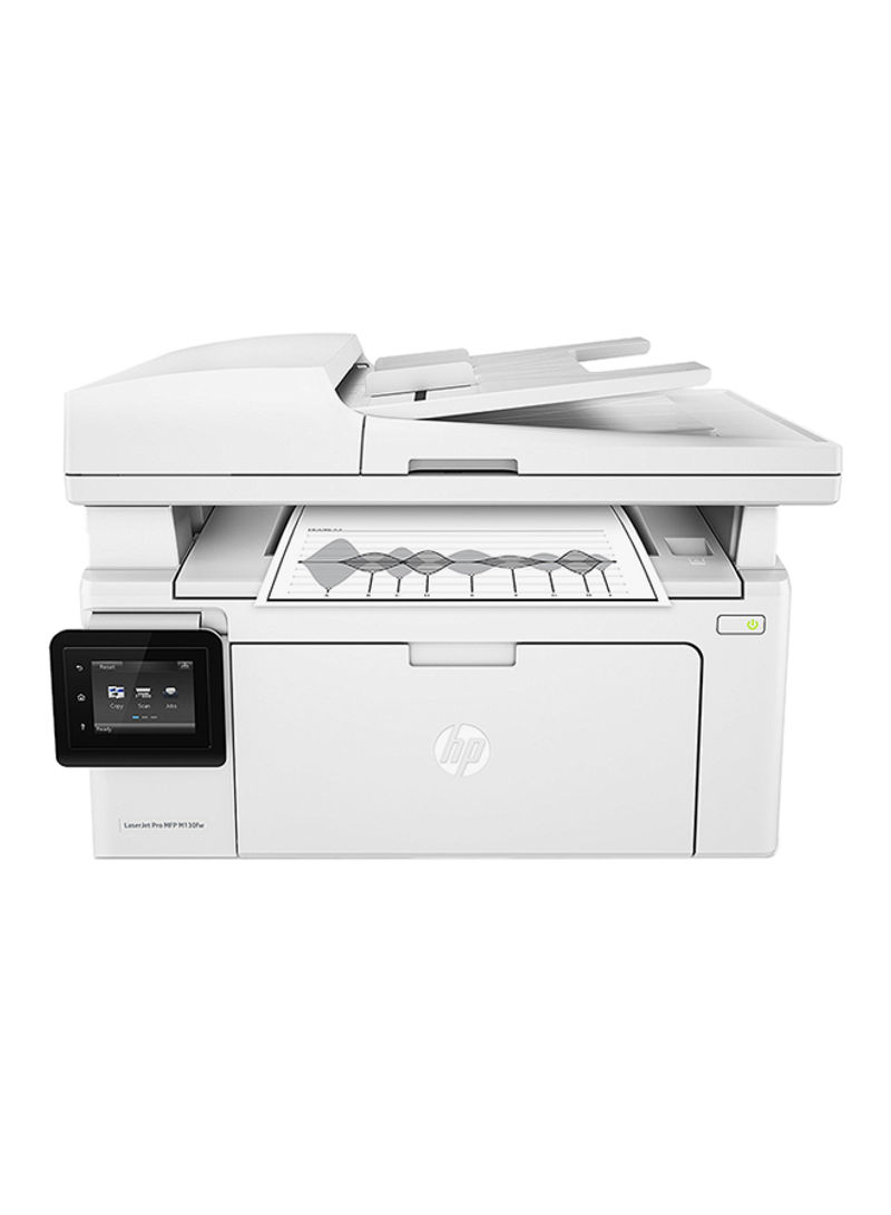 LaserJet Pro MFP M130fw Monochrome Printer With Wireless Capability,G3Q60A White_2