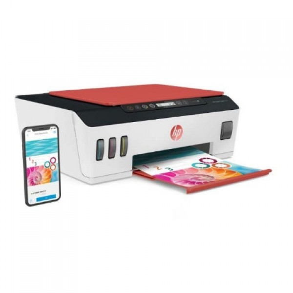 Smart Tank 519 Wireless All-in-One Printer White Black Red