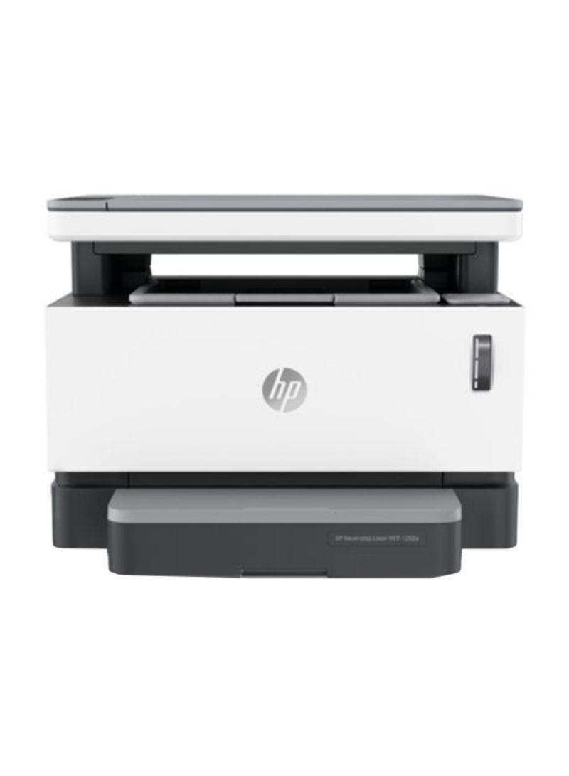 Neverstop MFP 1200a Monochrome Laser Printer,4QD21A White Grey