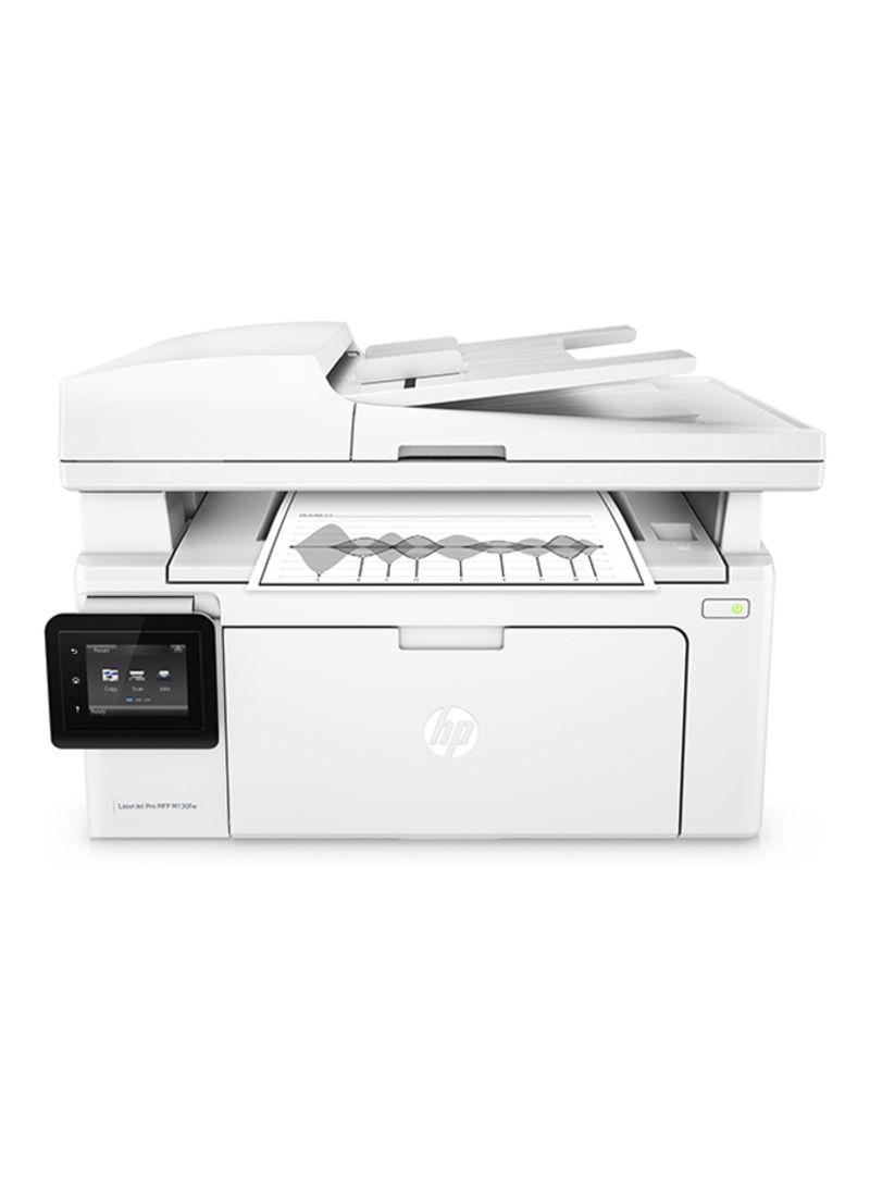 LaserJet Pro M130fw Multi-Functional Printer,G3Q60A White_2