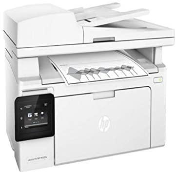Laserjet pro m130fw wireless, monochrome multi functional printer,g3q60a white
