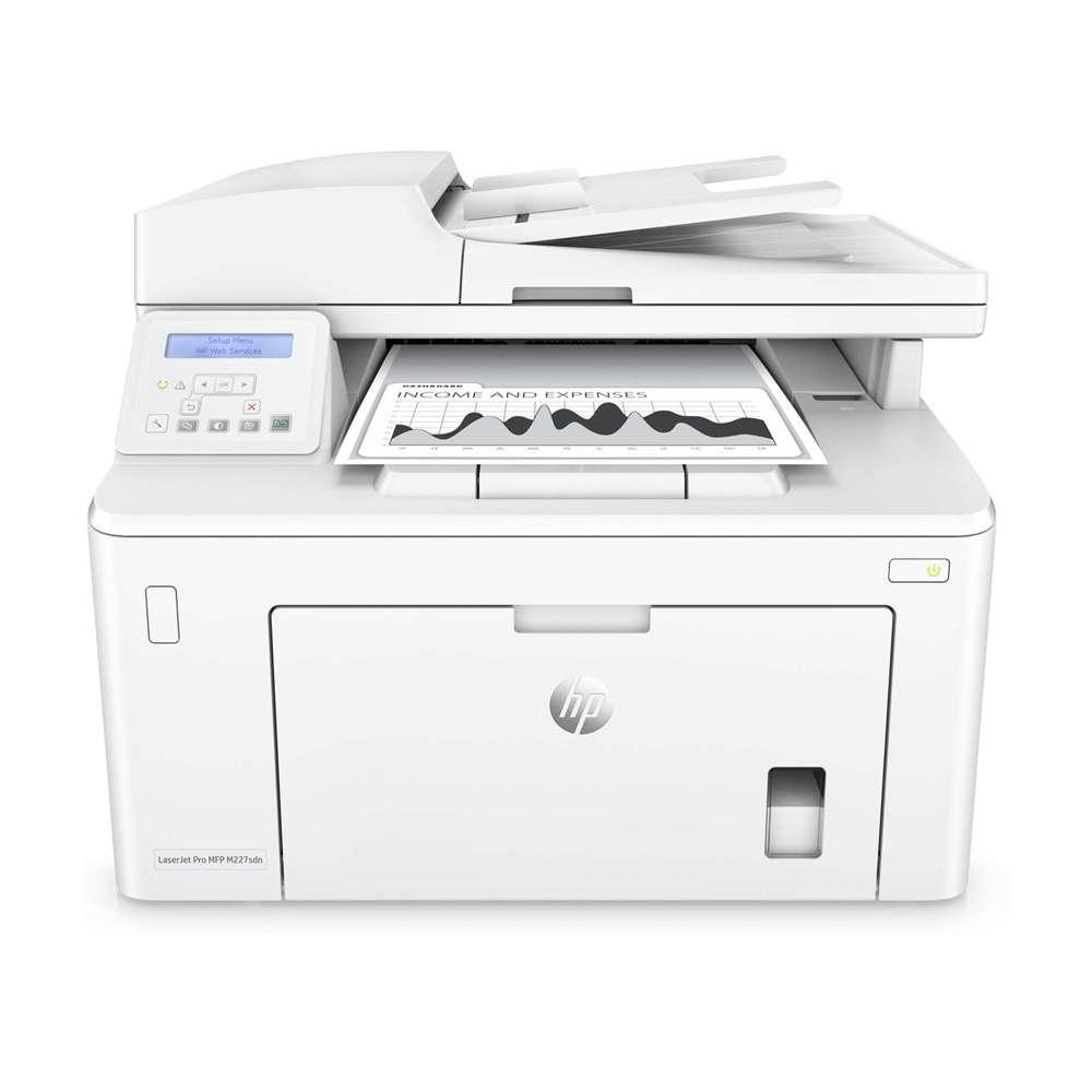 Laserjet pro mfp m227sdn printer,g3q74a white