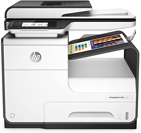 Color pagewide pro 477dw multifunction printer,d3q20b white black