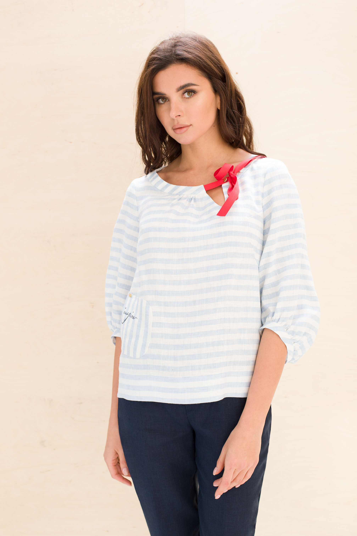 Linen casual set made from 100% linen_3