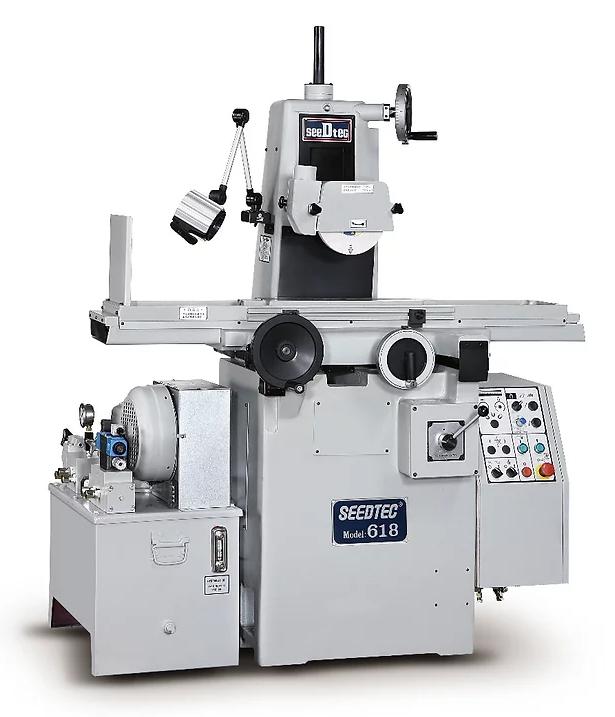 Ysg-618h/ah semi-auto surface grinding machine