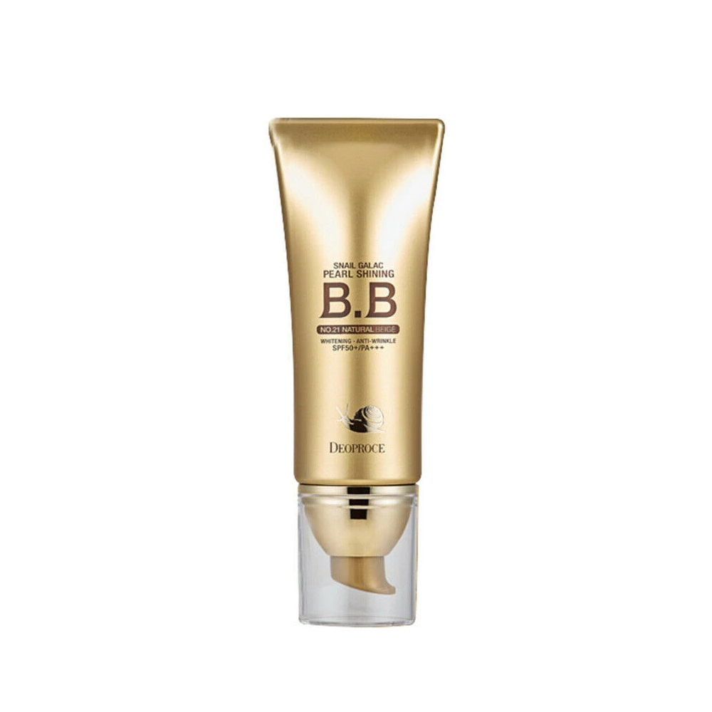 Deoproce Snail Pearl Shining BB Cream (SPF50) #21 NATURAL BEIGE_2