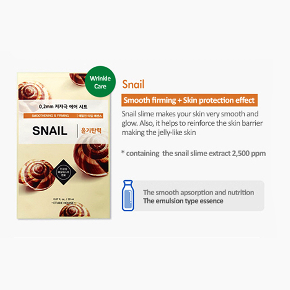 Etude House Therapy Mask - SNAIL_3