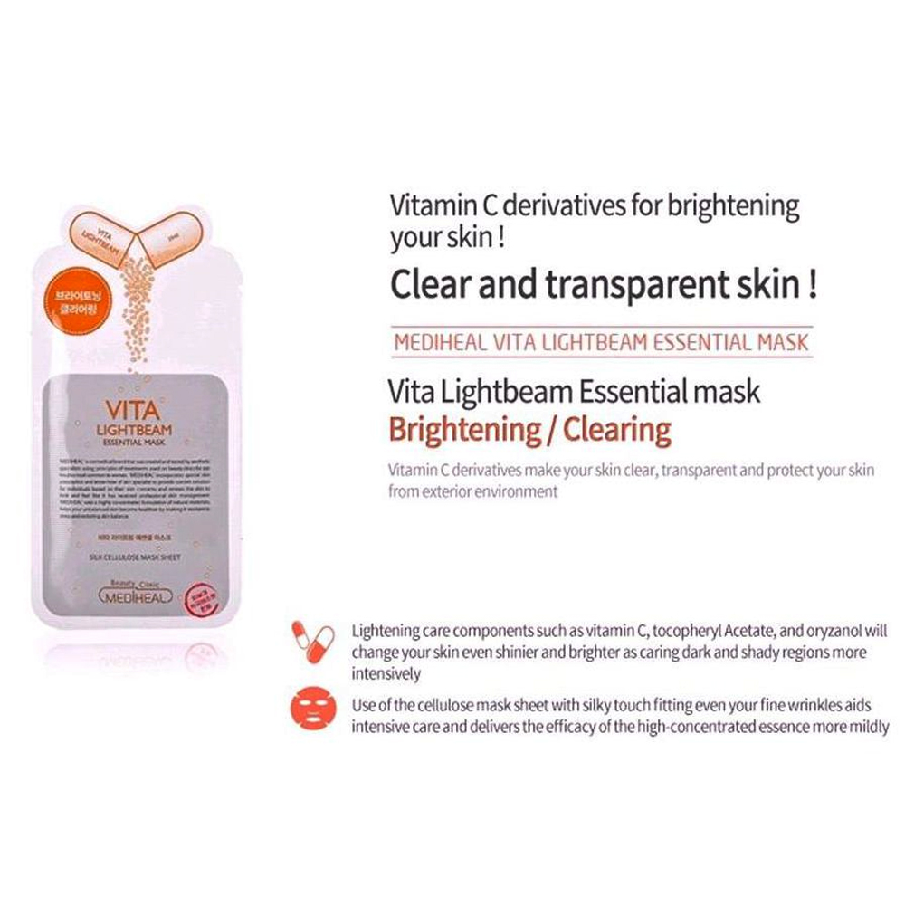 Mediheal VITA Lightbeam Essential Mask EX (brightening)_3
