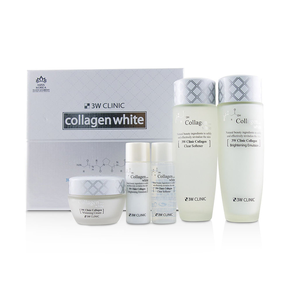 3W CLINIC Collagen Whitening Skincare Set
