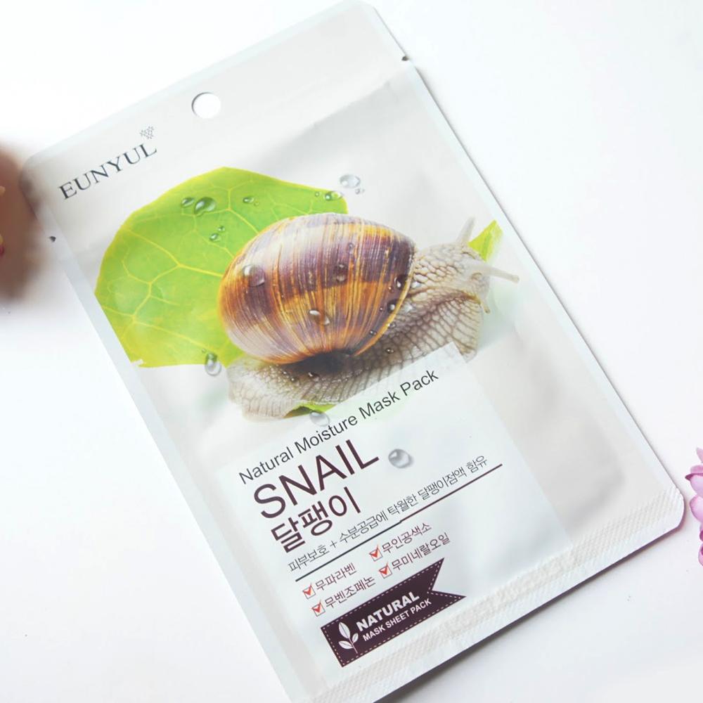 Eunyul Natural Moisture Sheet Mask - SNAIL_3