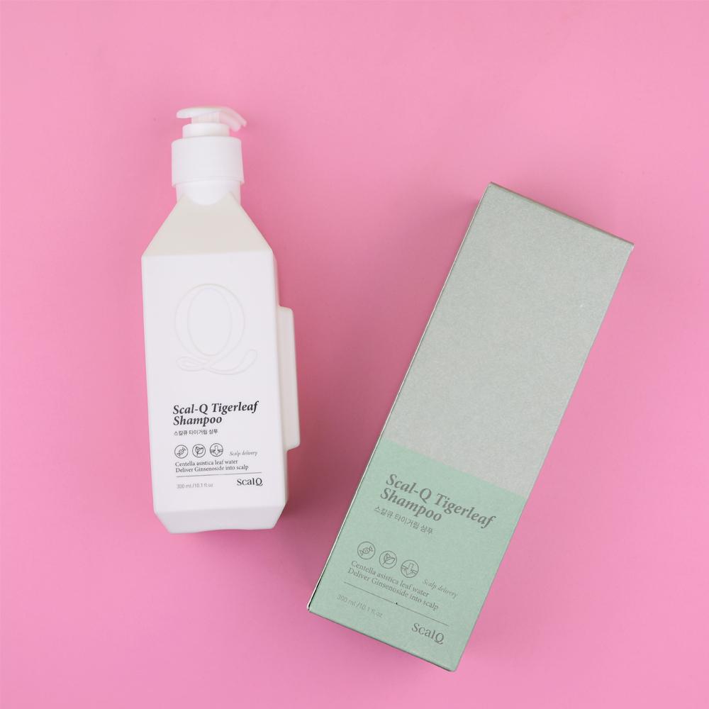 Scal-Q Tigerleaf Shampoo,300ml (hair loss care and health)_2