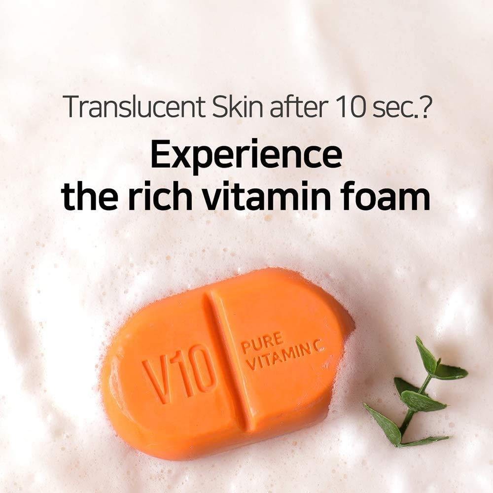SOMEBYMI V10 Multi Vita Cleansing Bar, 100g_2