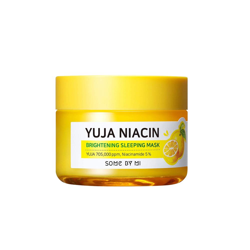 Somebymi yuja niacin brightening sleeping pack cream, 60g