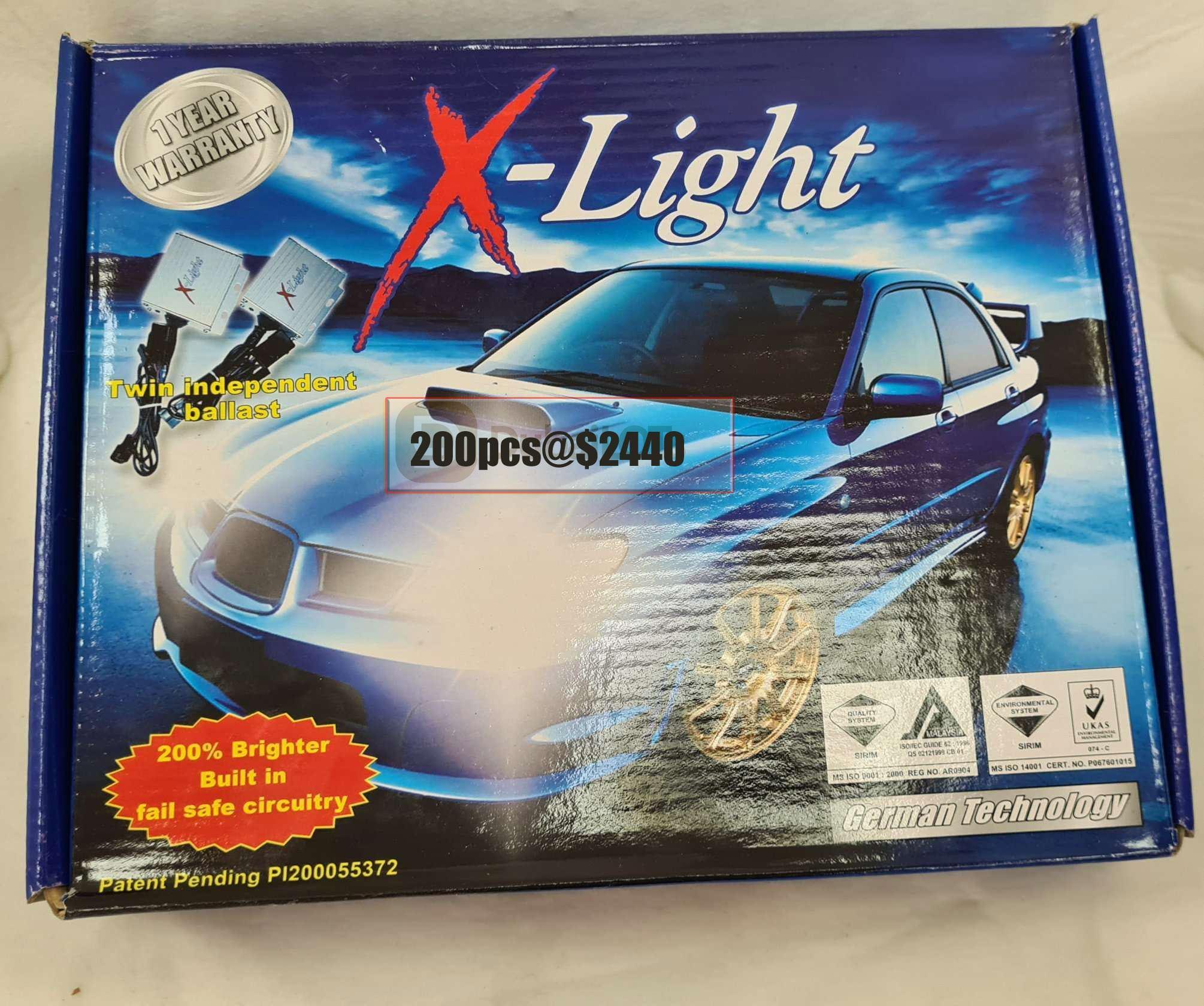 X-light automotive lighting system
