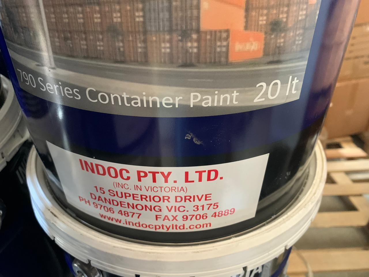 Pail indoc pty 790 series container paint 20 liter