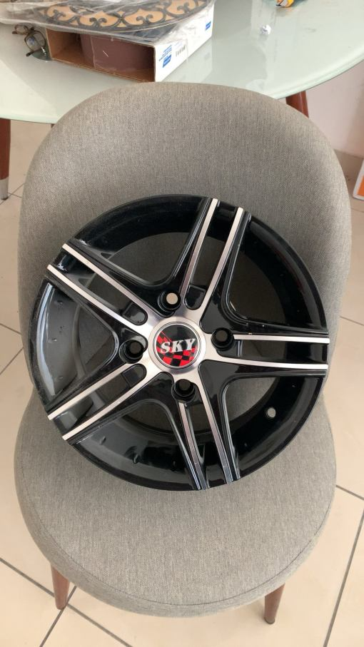 Wheel rims for car (sky wheels)