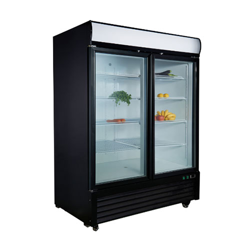 Upright refrigerator with double door(KR49G-PS)_2