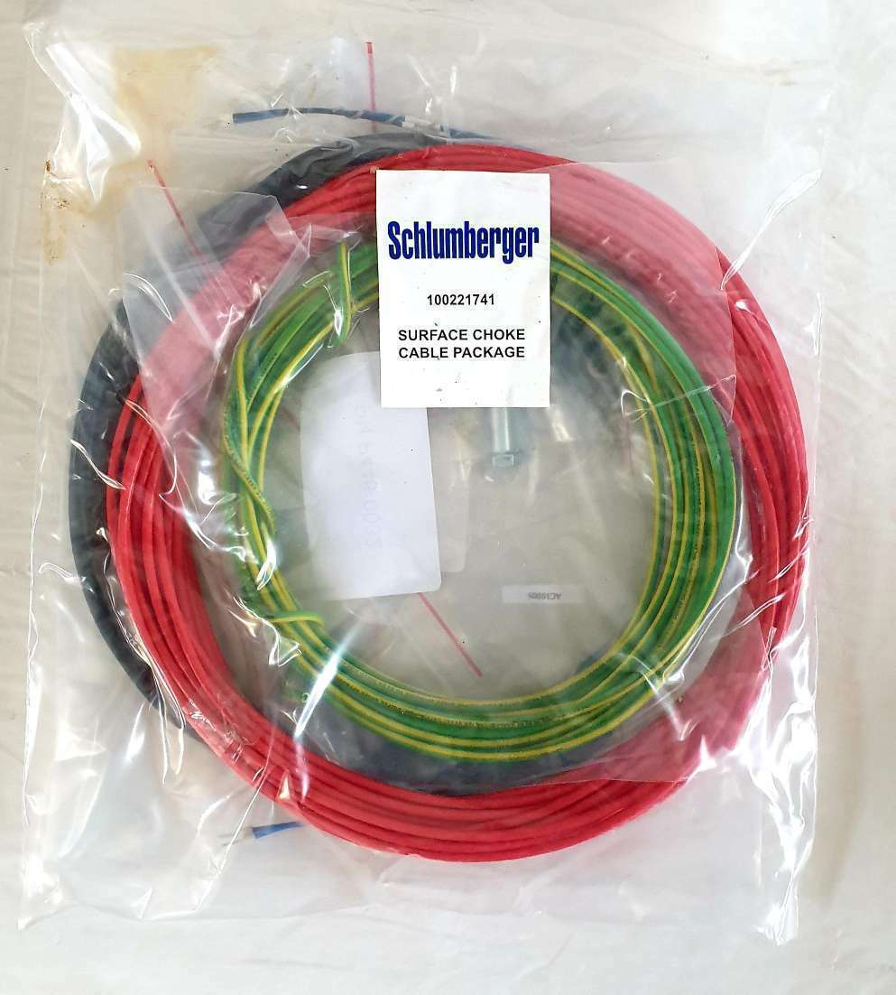 Schlumberger surface choke cable package