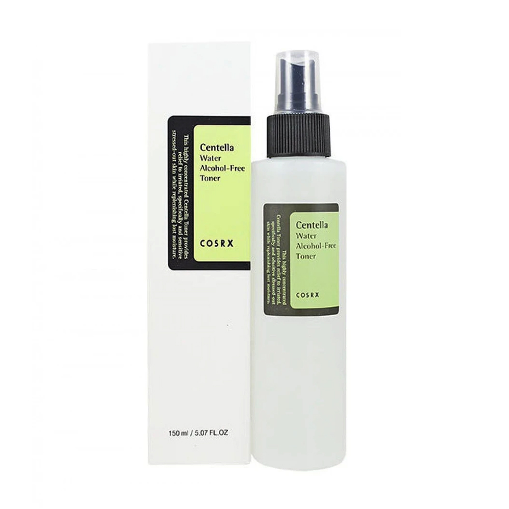 Cosrx centella water alcohol-free toner, 150ml