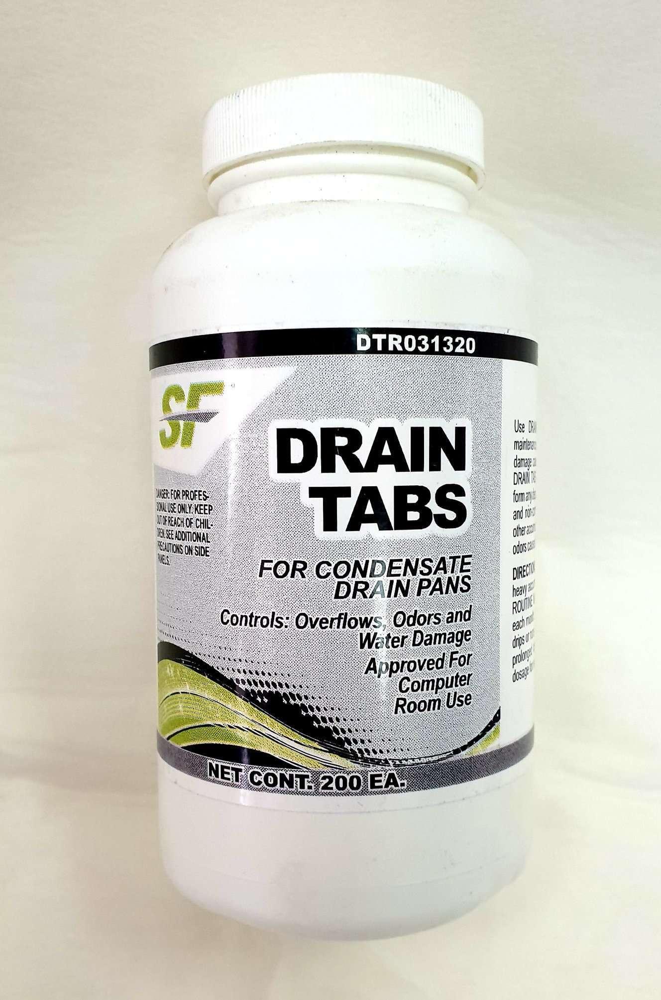 Sf trane condensate drain pan tabs, 200 pantabs dtr031320