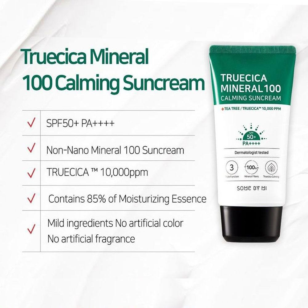 Some by mi Truecica Mineral 100 Calming Suncream spf50_3